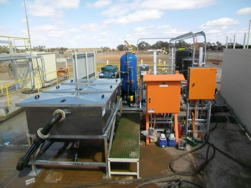 Wash bays Oil Water Separator